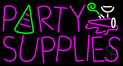 Party Supplies Neon Flex Sign