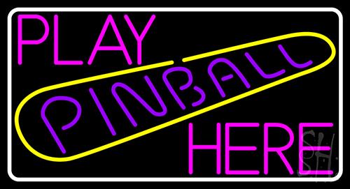 Play Pinball Herw 1 Neon Flex Sign