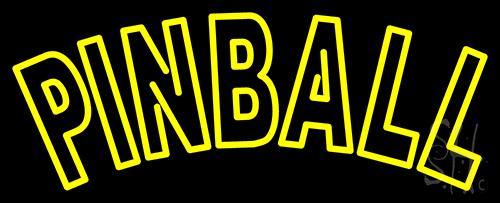 Tourquoise Pinball 1 Neon Flex Sign