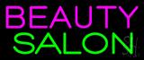 Pink Beauty Salon Green Neon Sign