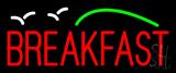 Breakfast with Birds Neon Sign