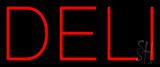 Red Deli Neon Sign