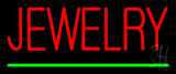Jewelry Green Line Neon Sign