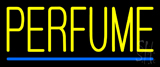 Yellow Perfume Blue Line Neon Sign