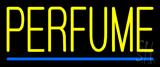 Yellow Perfume Blue Line Neon Sign