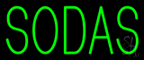 Green Sodas Neon Sign