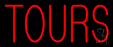 Red Tours Neon Sign