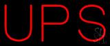 UPS Neon Sign