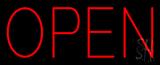 Block Open LED Neon Sign
