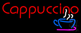 Red Cappuccino Cup LED Neon Sign