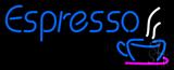 Blue Espresso Logo LED Neon Sign