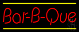 Bar-B-Que LED Neon Sign