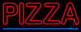 Double Stroke Pizza LED Neon Sign
