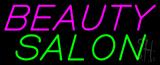 Slanting Beauty Salon Neon Sign