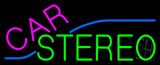 Pink Car Stereo Neon Sign
