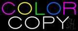 Color Copy Neon Sign