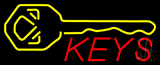 Keys Logo Neon Sign