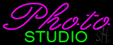 Purple Photo Green Studio Neon Sign