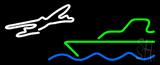 Travel Logo Neon Sign