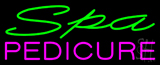 Green Spa Pink Pedicure Neon Sign