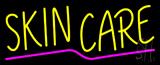 Yellow Skin Care Neon Sign