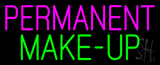 Purple Permanent Green Make-up Neon Sign