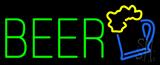 Green Beer Logo Neon Sign