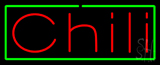 Red Chili Green Border Neon Sign
