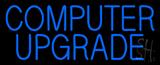 Blue Computer Upgrade Neon Sign