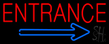 Entrance Neon Sign