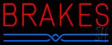 Brakes Block Neon Sign