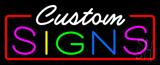 Custom s Neon Flex Sign