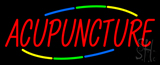 Deco Style Acupuncture Neon Sign