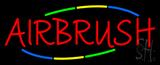 Deco Style Multi Colored Airbrush Neon Sign