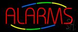 Multi Colored Alarms Neon Sign