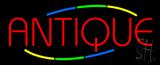 Multicolored Deco Style Antique Neon Sign