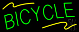 Green Bicycle Neon Sign
