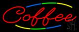 Deco Style Multi Colored Coffee Neon Sign