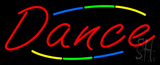 Deco Style Multi Colred Dance Neon Sign