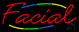 Deco Style Facial Neon Sign