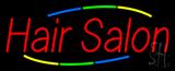 Multicolored Hair Salon Neon Sign