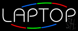 Multi Colored Laptop Neon Sign