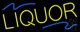 Yellow Liquor Neon Sign