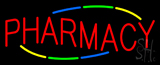 Multi Colored Deco Style Pharmacy Neon Sign