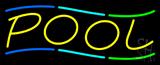 Multicolored Pool Neon Sign