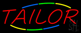 Red Multi Colored Tailor Neon Sign