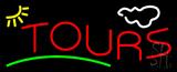 Tours block Neon Sign