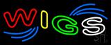 Multi Colored Wigs Neon Sign