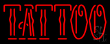 Red Tattoo LED Neon Sign