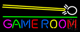 Game Room Cue Stick LED Neon Sign